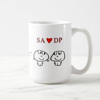 """""""SA heart DP"""" Coffee Mug"""