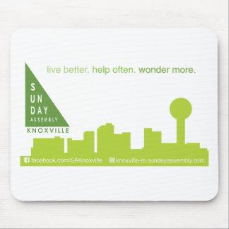 SA Knoxville Skyline Logo Mouse Pad