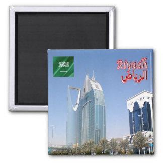SA - La Arabia Saudita - Riad - torre de Anoud del Imán Cuadrado