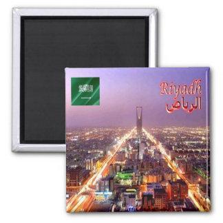 SA - La Arabia Saudita - Riyad - panorama Imán Cuadrado
