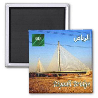 SA - Puente de la Arabia Saudita - de Riad Imán Cuadrado