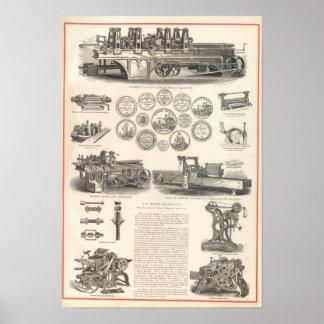 SA Woods Machine Company Posters
