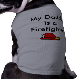 SAA1697, My Daddy is a Firefighter Dog Shirt
