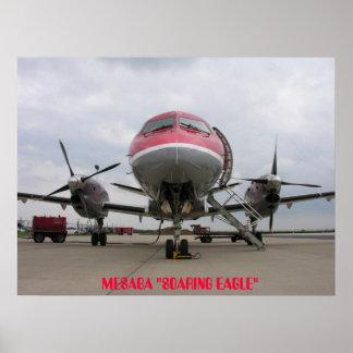 Saab 340 Mesaba, MESABA Print