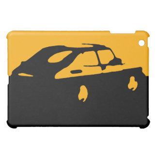 Saab 900 SPG/Aero - Yellow on dark bkgd iPad case