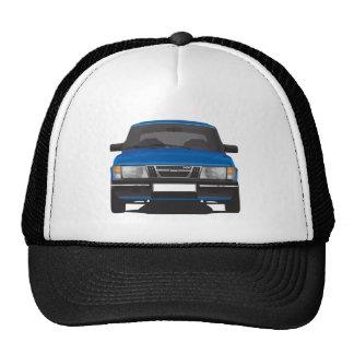 Saab 900 turbo (blue) trucker hat