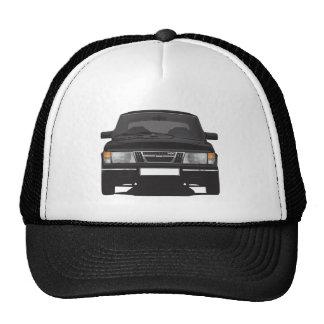 Saab 900 turbo (negro) gorras de camionero