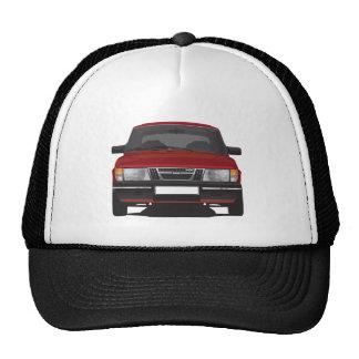 Saab 900 turbo (red) trucker hat