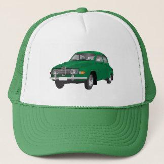 Saab 96 green trucker hat