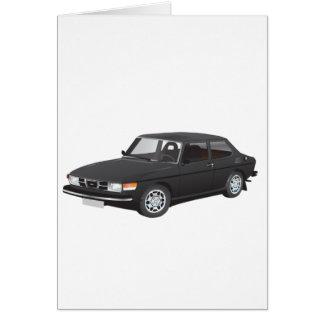 Saab 99 black card