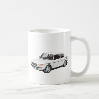 Saab 99 white coffee mug