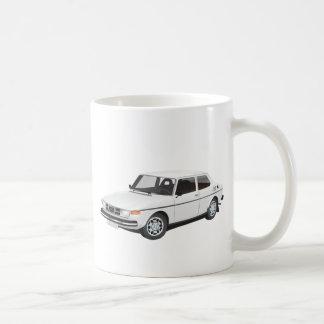 Saab 99 white coffee mug