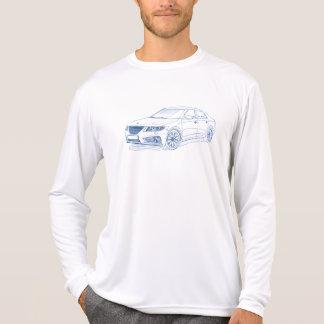 Saab 9-5 2011 camiseta