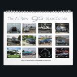 """Saab 9-5 NG Sportcombi Calendar 2018<br><div class=""""desc"""">www.9-5sc2012.com</div>"""