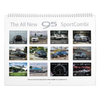 Saab 9-5 NG Sportcombi Calendar 2018