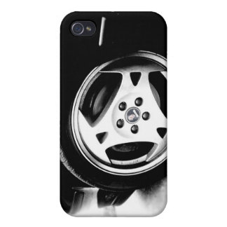 Saab Aero (klingon) wheel iPhone 4 Covers