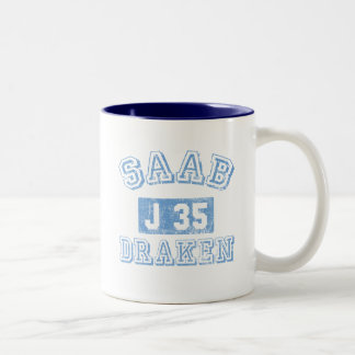 Saab Draken - BLUE Mugs