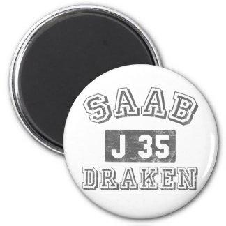 Saab Draken Imán Redondo 5 Cm