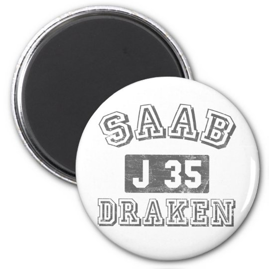 Saab Draken Magnet