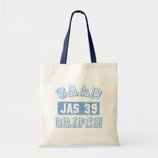 Saab Gripen - BLUE Tote Bag