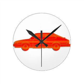 Saab Profile Round Clock
