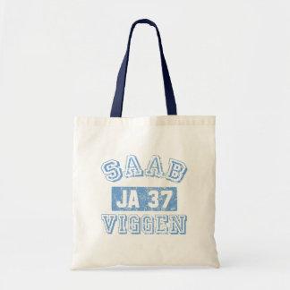 Saab Viggen - AZUL Bolsa Lienzo