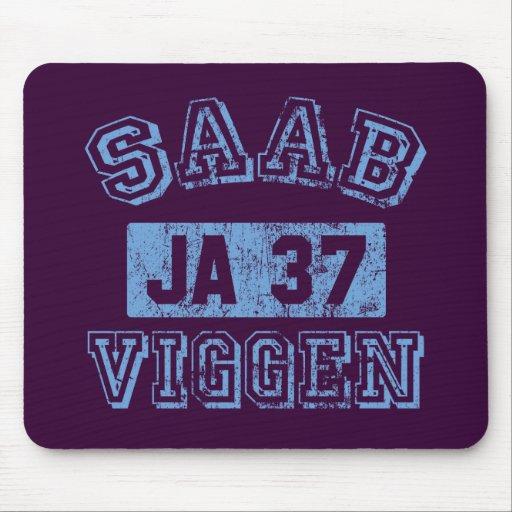 Saab Viggen - AZUL Mouse Pads