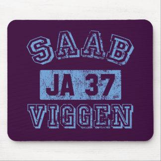 Saab Viggen - AZUL Tapetes De Ratones