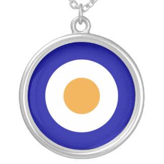 SAAF Roundel Round Pendant Necklace