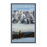 Saalbach - niebla del valle postal
