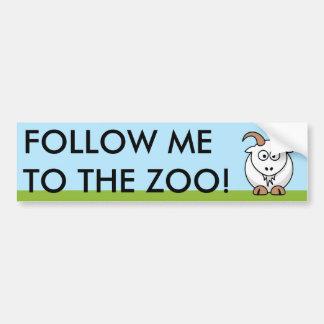 Saanen Goat Bumper Sticker