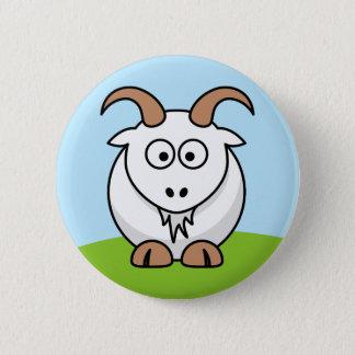 Saanen Goat Button