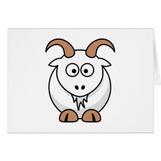 Saanen Goat Stationery Note Card