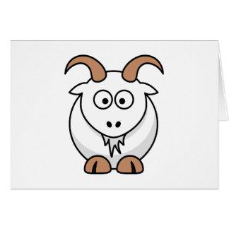 Saanen Goat Card