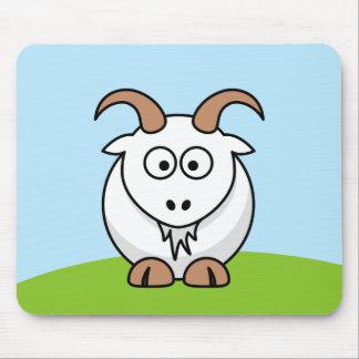 Saanen Goat Mouse Pad
