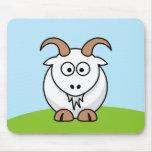 Saanen Goat Mousepads
