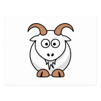Saanen Goat Postcard