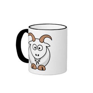 Saanen Goat Ringer Mug