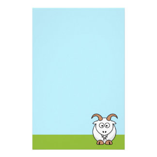 Saanen Goat Stationery