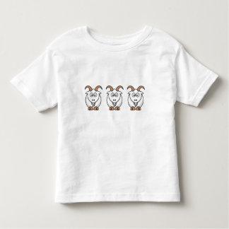 Saanen Goat Toddler T-shirt
