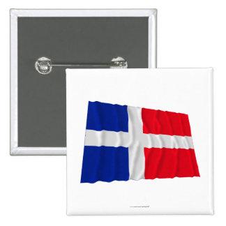 Saar Waving Flag (1947-1956) Button