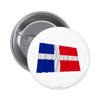 Saar Waving Flag (1947-1956) Pinback Button