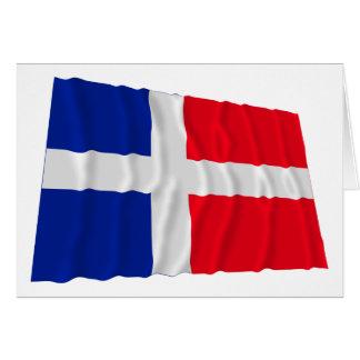 Saar Waving Flag (1947-1956) Card