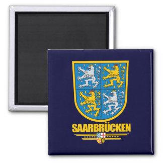 Saarbrucken Kreis Coat of Arms 2 Inch Square Magnet