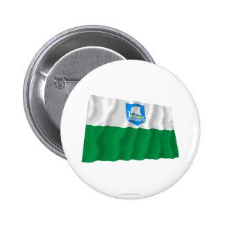 Saare Waving Flag Pinback Buttons