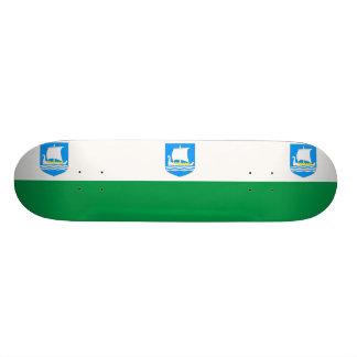 Saaremaa, Estonia flag Skate Deck