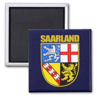 Saarland 2 Inch Square Magnet