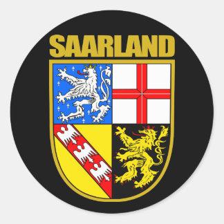 Saarland Classic Round Sticker