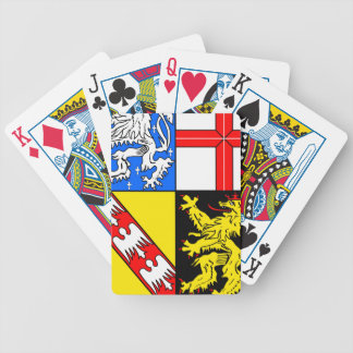 Saarland coat of arms bicycle playing cards