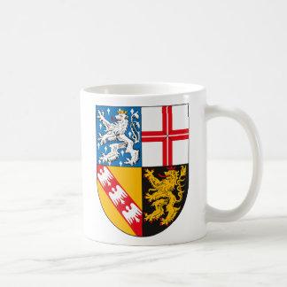 Saarland Coat of Arms Mug